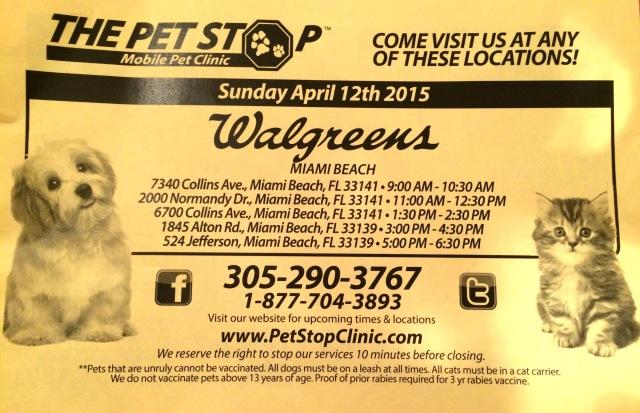 Pet stop at walgreens – Miami Natural Pet Care